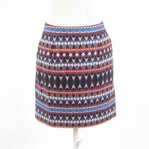 J. Crew mauve purple mini skirt 0